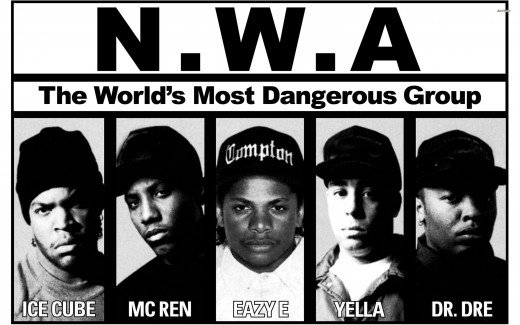 N.W.A. helped pioneer a new form of hip-hop called Gangsta Rap.