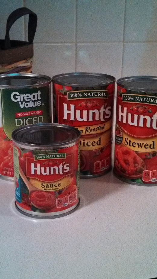 Canned tomatoes make it easy to make a quick soup, stew, or sauce.