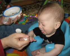 What do different countries feed their babies??
