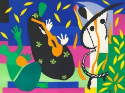 """Sorrow of the King"" after Matisse"