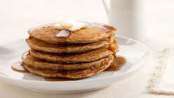Healthy and Delicious Whole Wheat Oatmeal Pancakes With An Exciting Twist