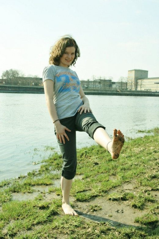 Walking barefoot connects you to the Earth's  limitless healing energy.