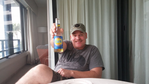 Carib it is cold and delicious