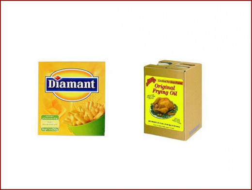 Frying fat or frying oil, it really doesn't matter which one you use.