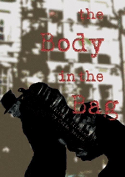 Programme cover for Colin Garrow's play The Body in the Bag