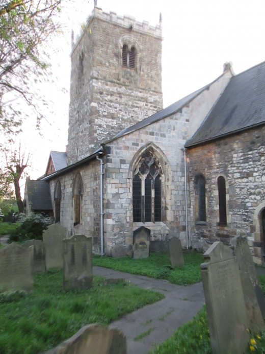 St Mary Bishophill Junior, not far from Micklegate. This is where King Harold's wayward brother Tostig is said to have been buried after the Battle of Stamford Bridge, 25th September, 1066. I think otherwise.