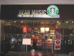 Don't forget about starbucks....their all about the music.