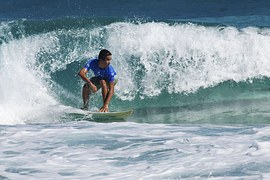 Surfing is a natural high!