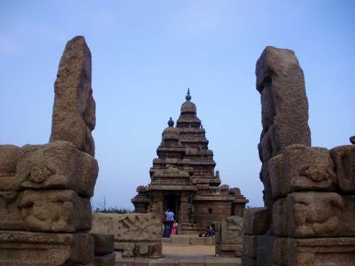 The Shore Temple Complex (Front View)