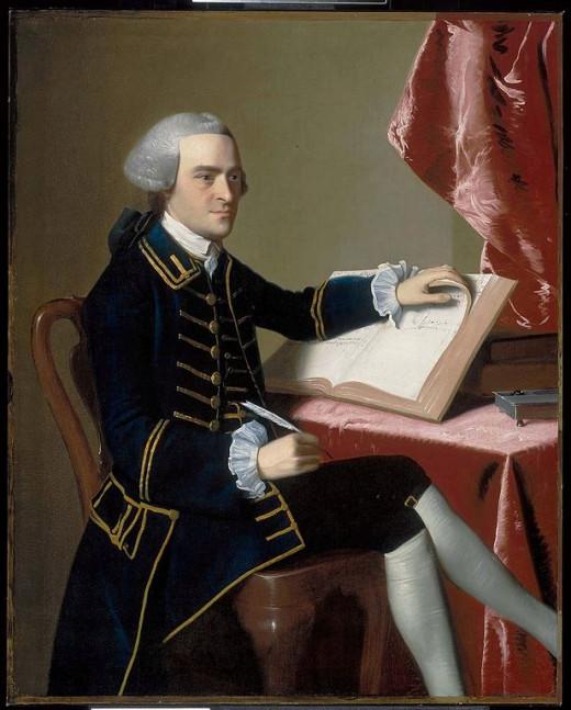 John Hancock, by John Singleton Copley (1738–1815)