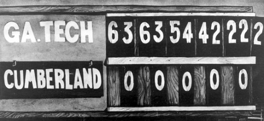 The scoreboard tells only part of the amazing story of the famous game.