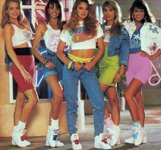 80s Fashion Trends Teenagers and Jewelry of the s