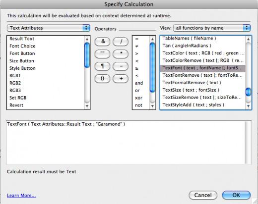 FileMaker Pro Advanced 9