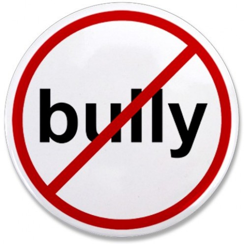 I take a stand against bullying.