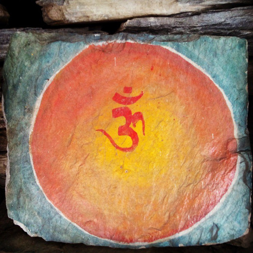 Om the voice of eternity, within you, within me.