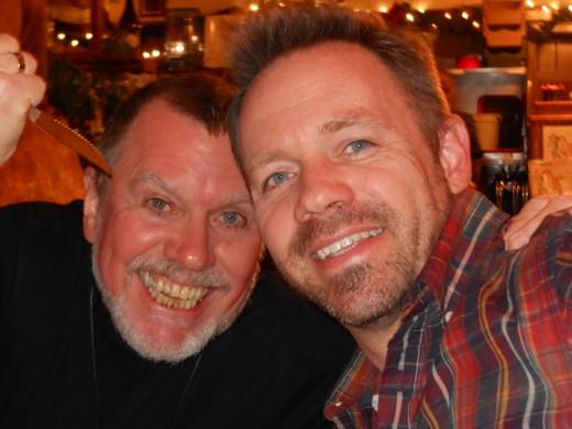 My favorite Mentor, David Bradley, on the right