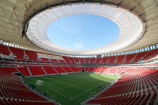 Mané Garrincha internal view