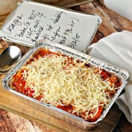 Take a casserole to the bereaved