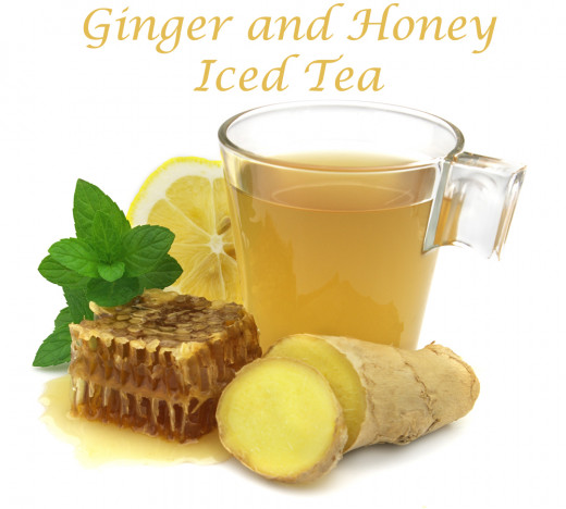 Ginger and Honey Iced Tea