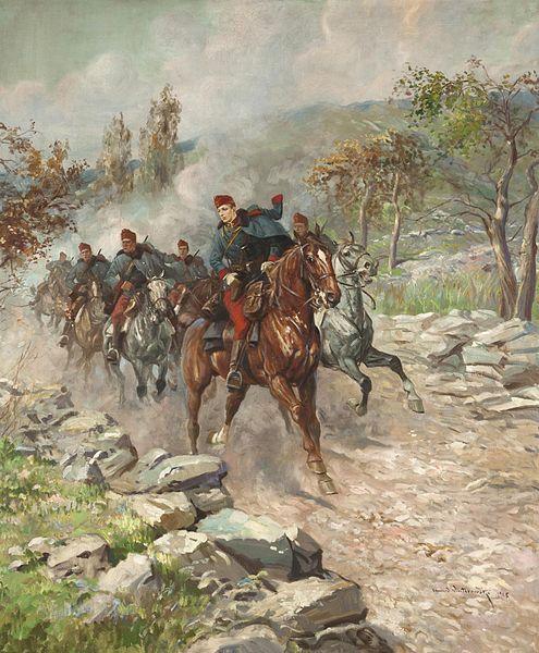 Austro-Hungarian dragoons 1915.