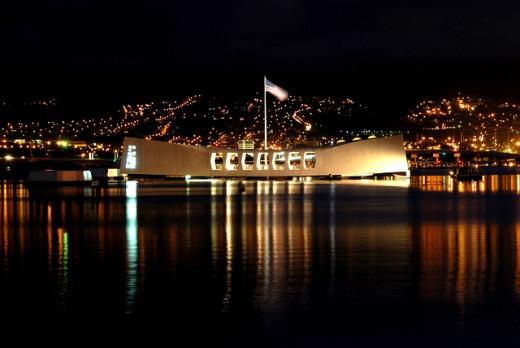 USS Arizona, Pearl Harbor Memorial, Hawaii