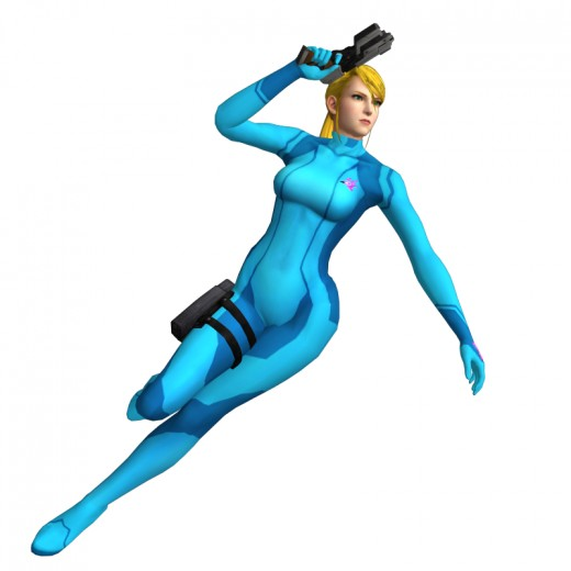 The Zero Suit is form-fitting, of course.