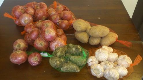 Garlic &Onions for Fighting Dandruff