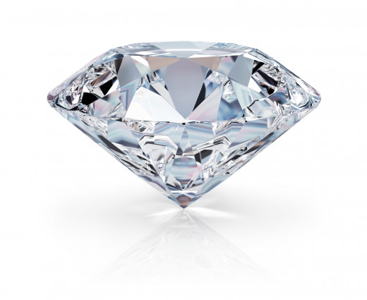 Diamonds are an expression of abundance. It is an animalistic way to determine that everything else also might be present.