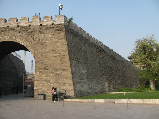 The last 100 meters or so leading to the southeast watchtower is the original wall, which has been spared destruction over the years due to its proximity to the tower.