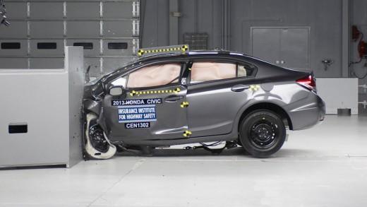 Car safety crash testing.