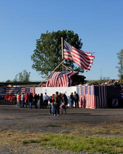 The Fire Watch Ceremony At Solvay, NY Fairgrounds, To Remember Our Veterans, Thousands Attend Each Year