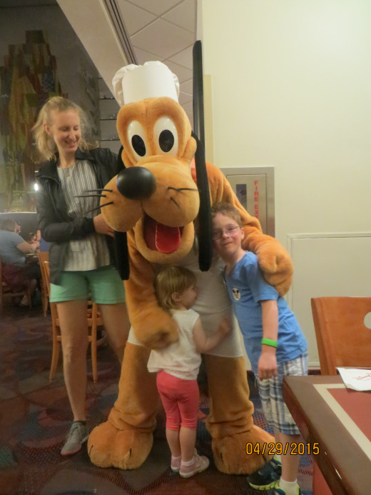 Dinner with Pluto.