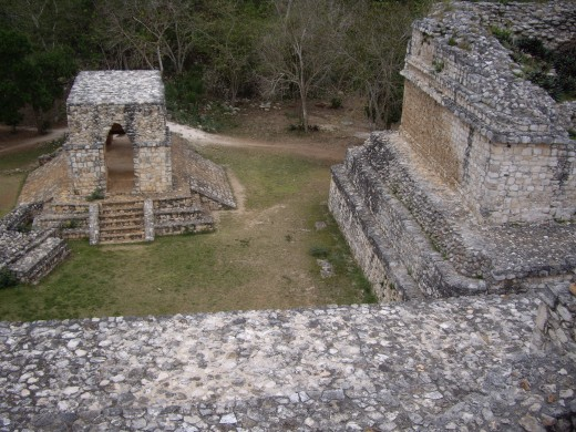 the Entrance Arch, Ek Balam, Yucatan