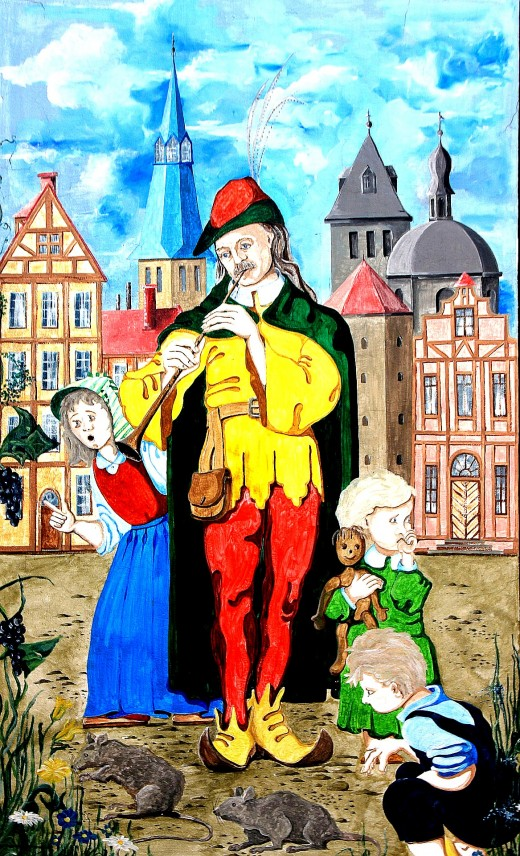 The Pied Pipe of Hamelin - one of many fairy tales in print