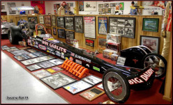 Just one of the many cars inside Don Garlits Racing Museum in Ocala, Fla.