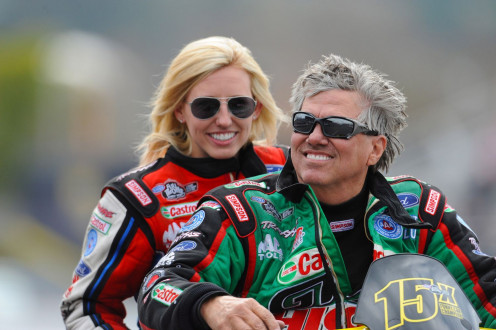 John and Courtney Force.