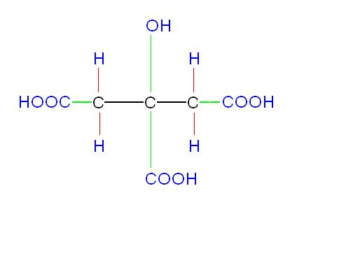 It contains both hydroxyl as well as carboxylic groups.