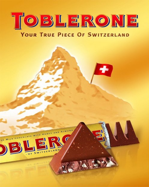 Early poster - Toblerone