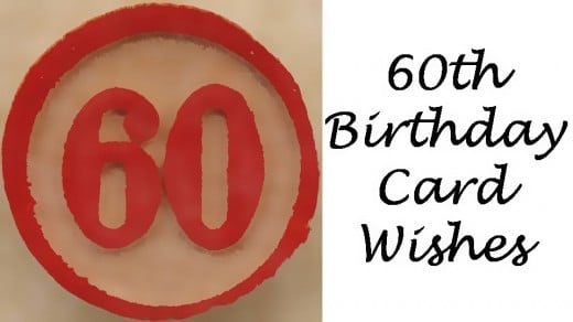 60th Birthday Card Messages Wishes Sayings And Poems What To Write