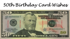 50th Birthday Card Messages, Wishes, Sayings, and Poems: What to Write?