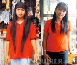 Sarah Balabagan then and now (Courtesy of newsinfo.inquirer.net)