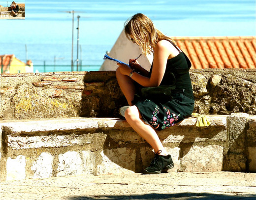 Just a tip: the more able you are to write anywhere (even if that means pencil and paper) the more you'll write!