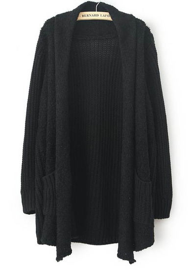 A black sweater for whenever it's chilly outside.
