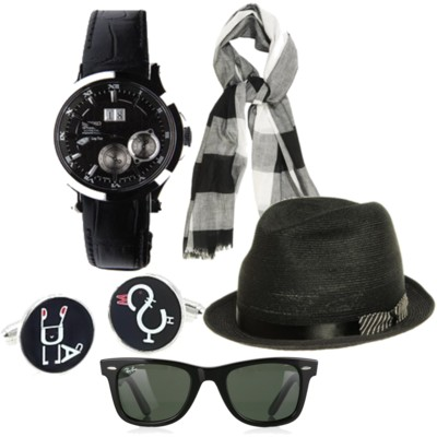 Always accessorize! Black hats, sunglasses, scarves, necklaces, bracelets, bows, earrings, and belts are just few of the outfit buddies you should have.