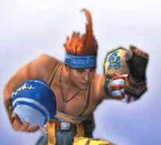 Wakka and his, uh, weapon
