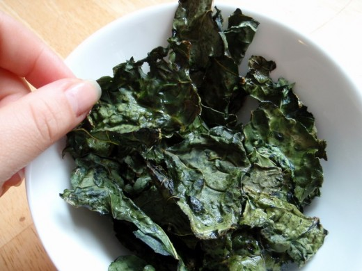Even many people who do not ordinarily like kale enjoy kale chips.