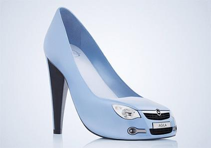 This pair of pumps really has some good looking grill work.