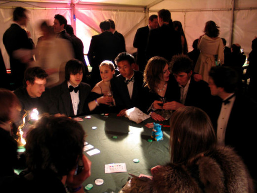 Gamblers and Table