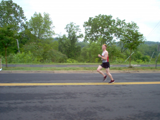 Half Marathon Runners (4 of many)