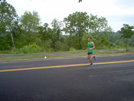 Half Marathon Runners (5 of many)